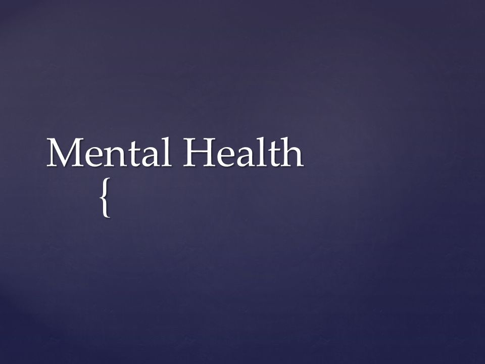 Mental Health The Term Stigma Refers To Any Attribute Trait Or