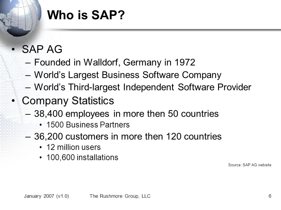 What Is SAP.