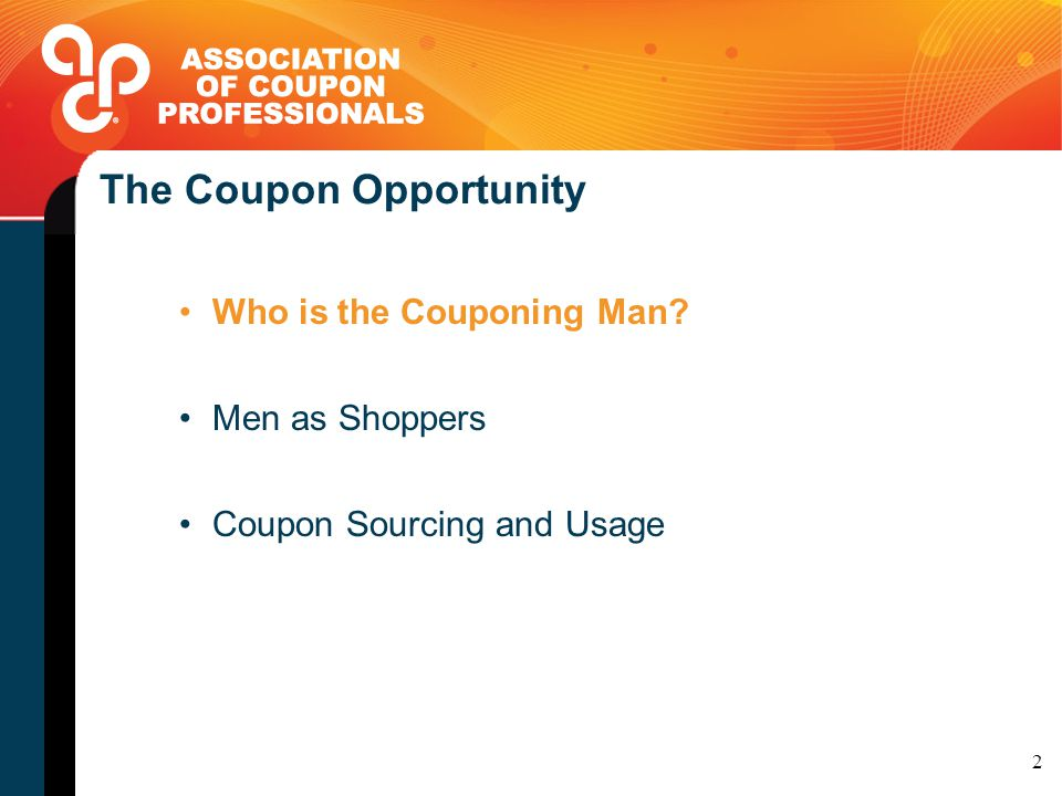 Men the coupon opportunity thrse mulvey vice president marketing 2 the fandeluxe Choice Image
