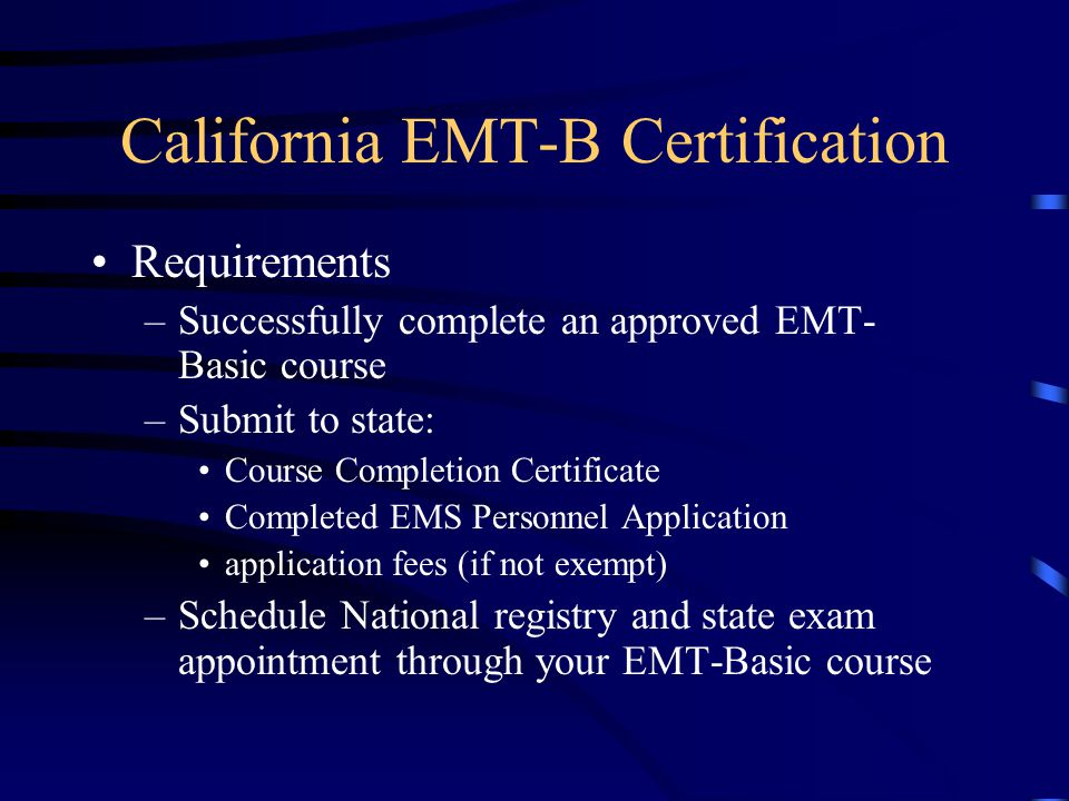Introduction To Emergency Medical Care Emergency Medical Technician