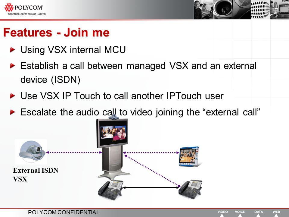 POLYCOM CONFIDENTIAL Polycom enables Alcatel Instant Video Solution