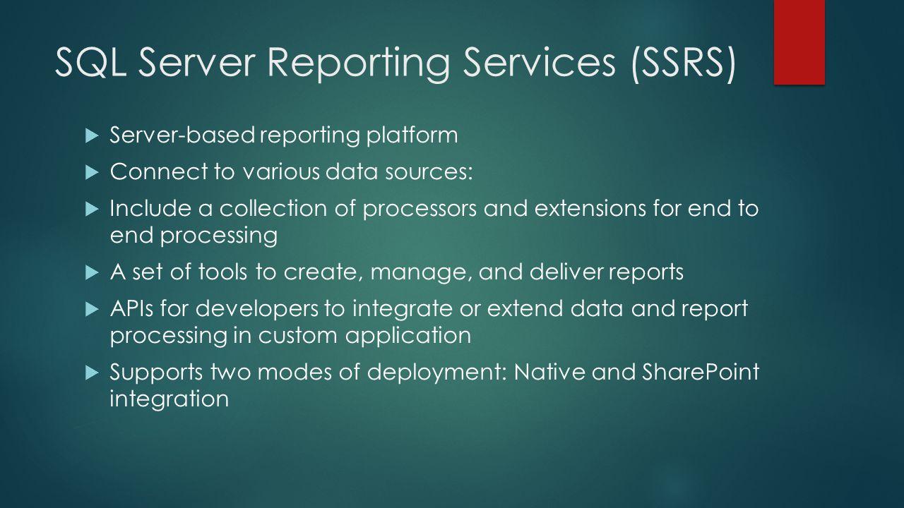 SSRS Integration with SharePoint JACOB CHANG  Jacob Chang