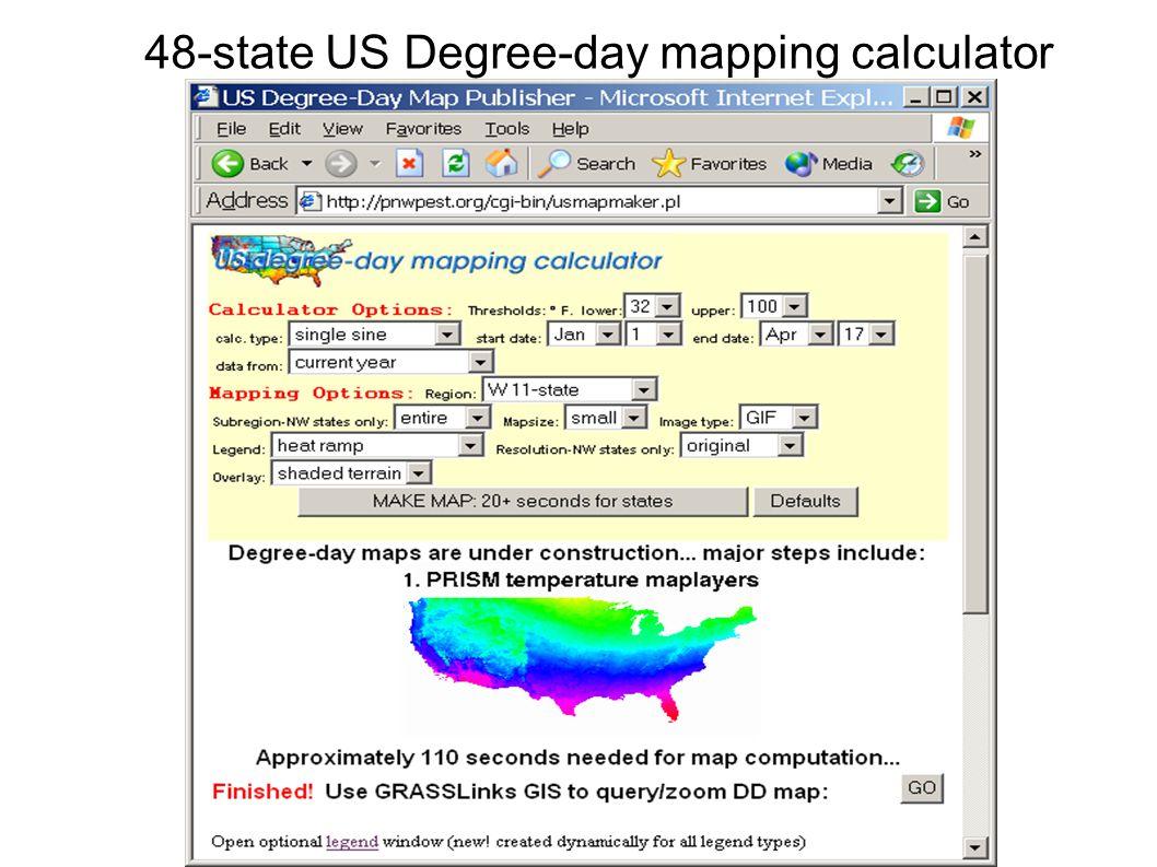 OSU/IPPC/NPDN/NRI - Pest Epidemiology Models, Maps and