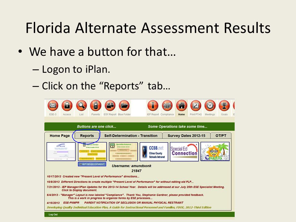 Florida Alternate Assessment Results Are in Performance Matters…