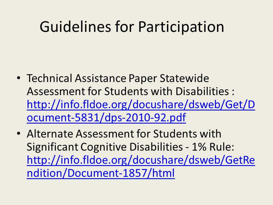 Florida Alternate Assessment Report… Report displays the teacher's found set of students on a list…