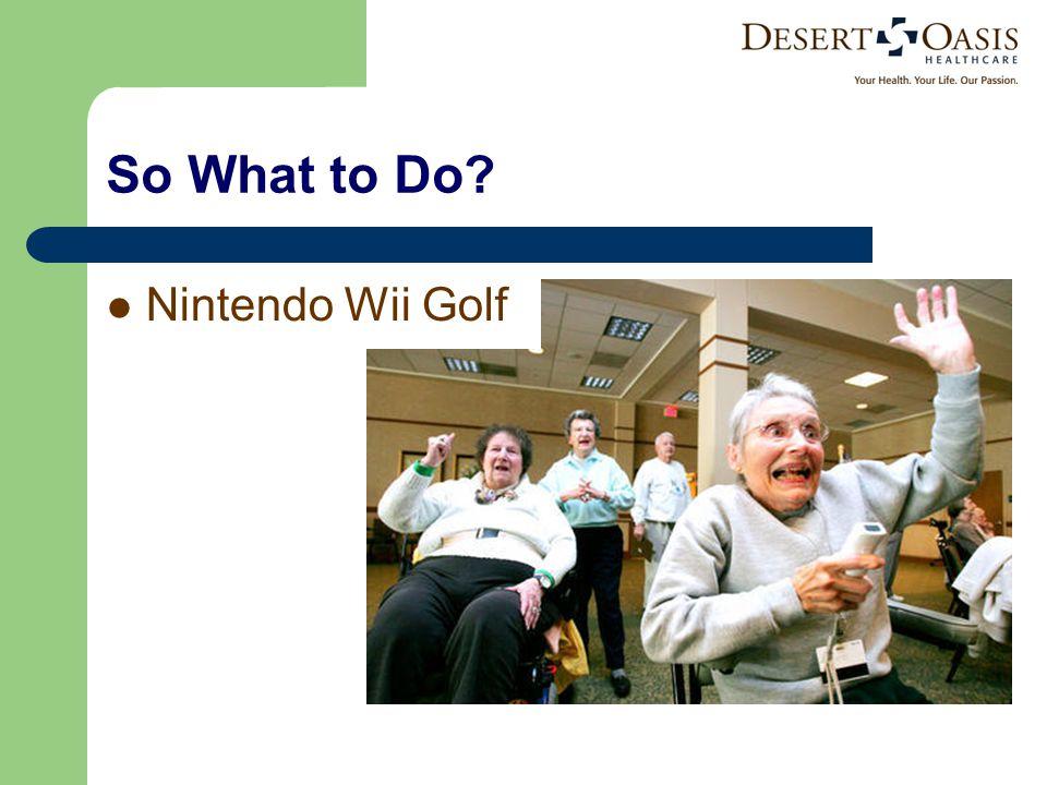 So What to Do Nintendo Wii Golf