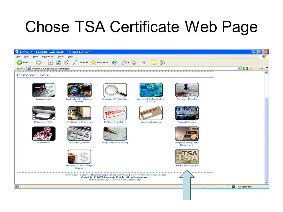 Tsa Approved Driver Web Application With Tsa Security Guidelines