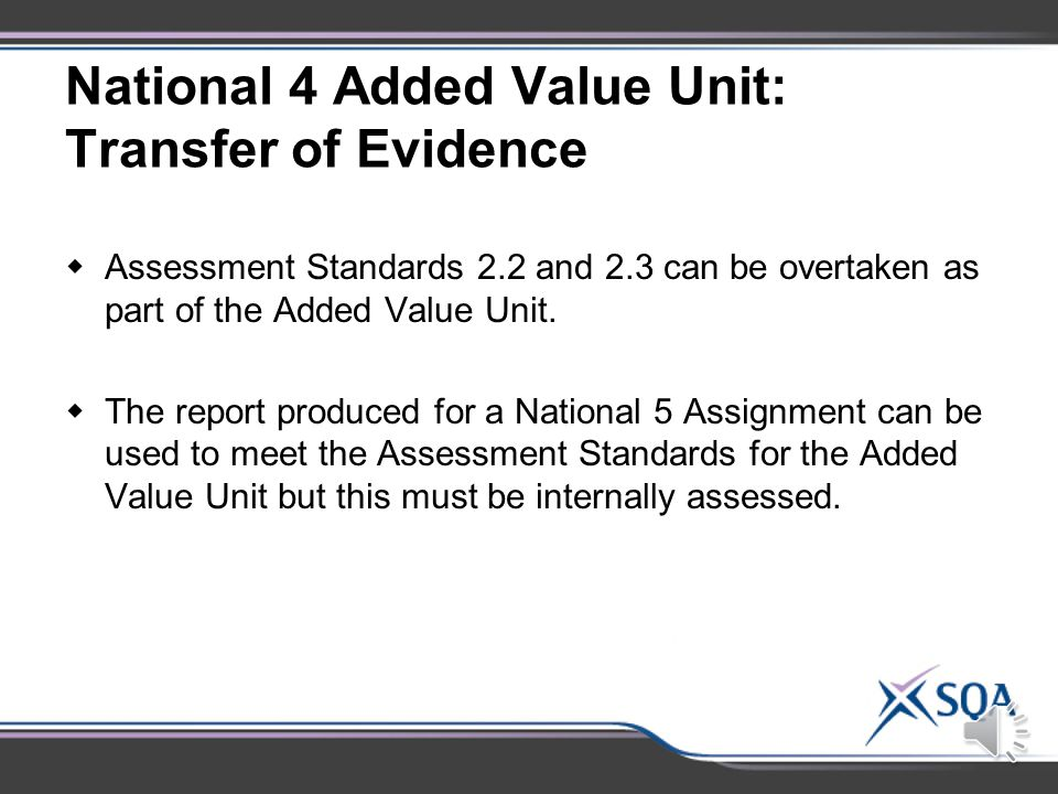  Candidates only need to be re-assessed on the specific Assessment Standard(s) that has not been met.