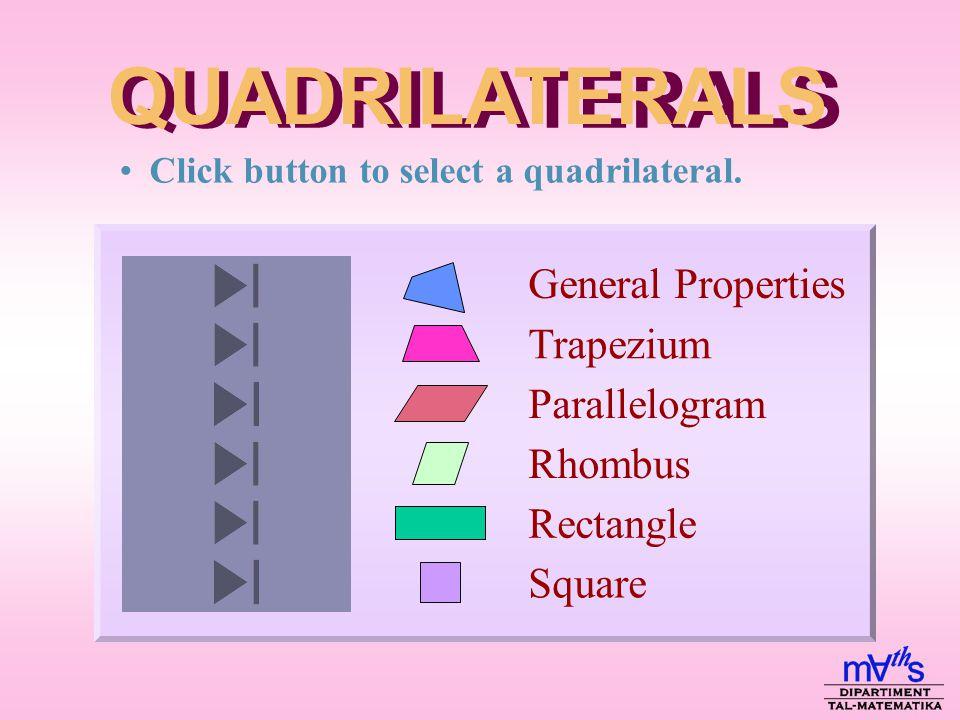2 d i f f e r e n t types of quadrilaterals d i f f e r e n t types of quadrilaterals