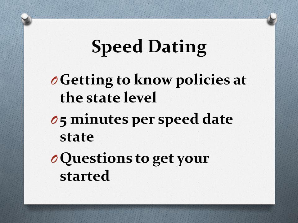speed dating in washington state