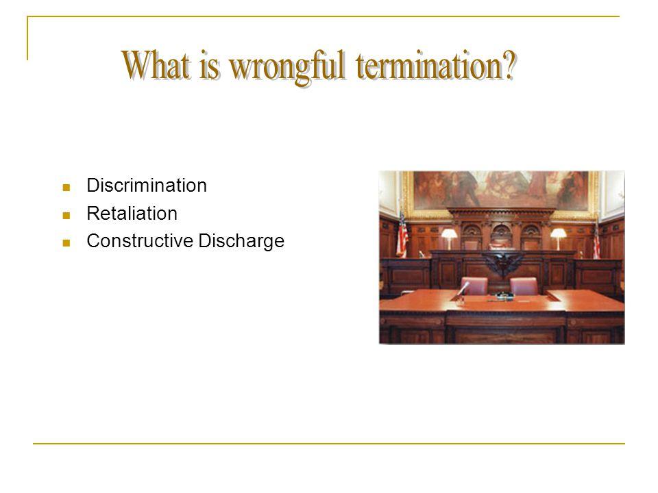 are you prepared are you sure discrimination retaliation