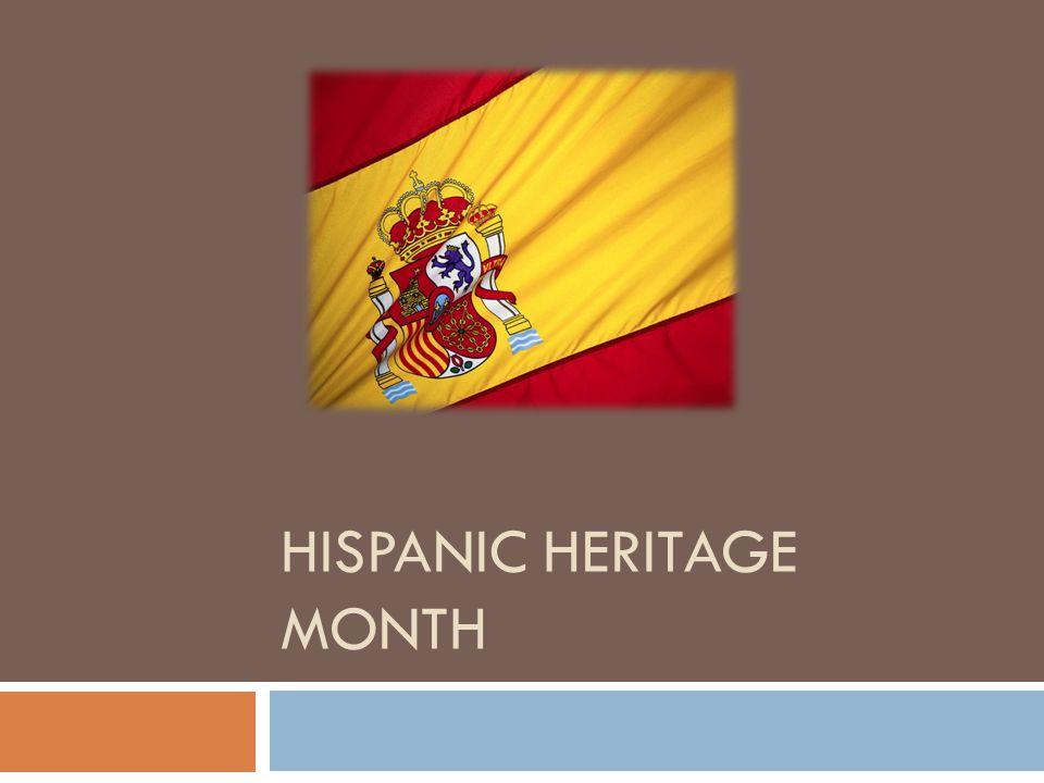 1 hispanic heritage month