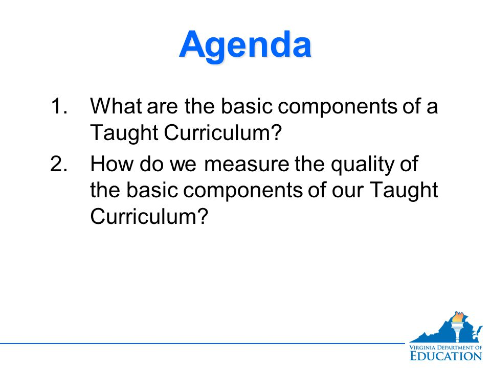 Evaluating the Alignment and Quality of the Taught