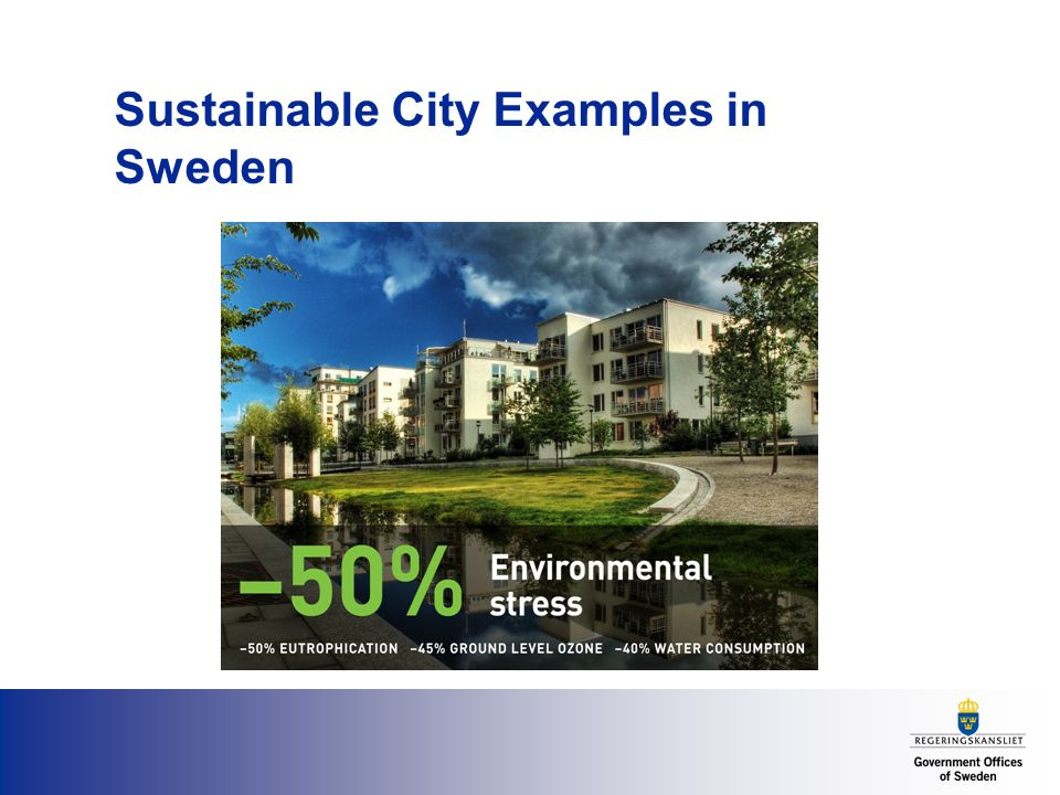 Sustainable City Examples in Sweden