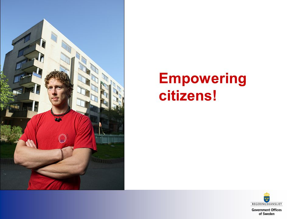 Empowering citizens!