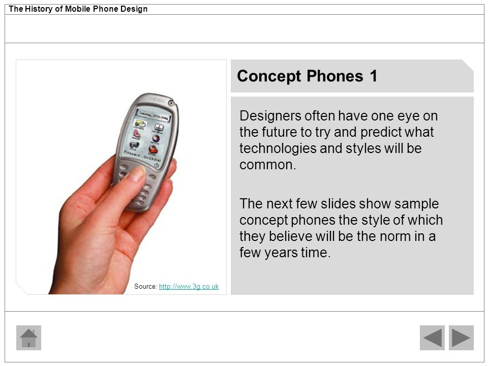 The History of Mobile Phone Design  Source: - ppt download