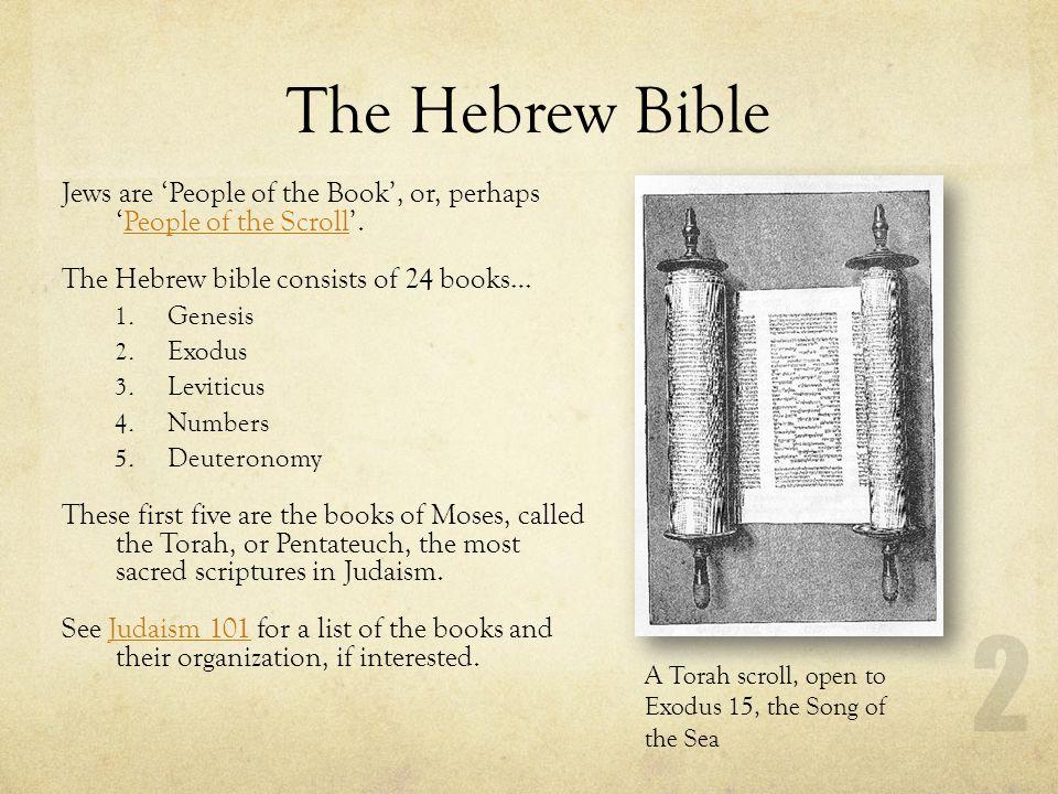 hebrew bible new testament