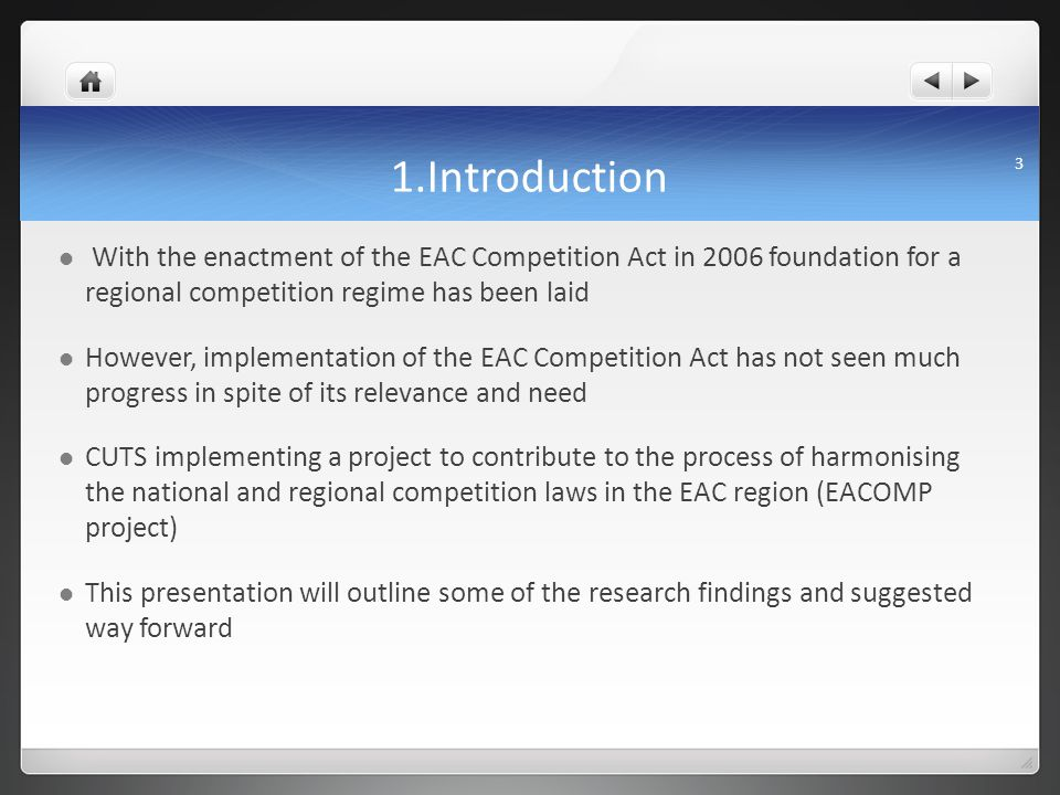 Facilitating Well-Functioning Regional Markets in the EAC