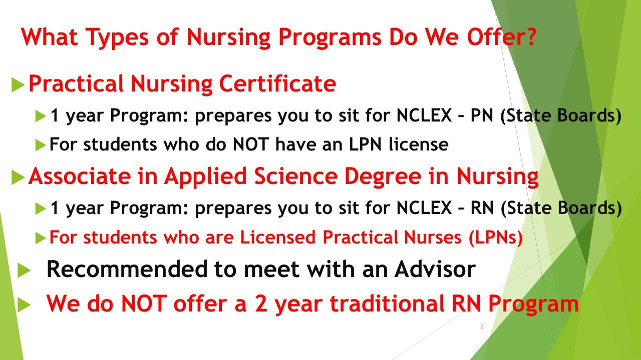 Salem Community College Nursing Information Session Practical