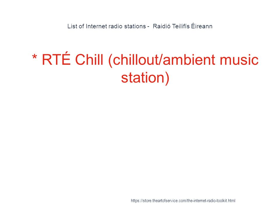 Internet Radio - ppt download