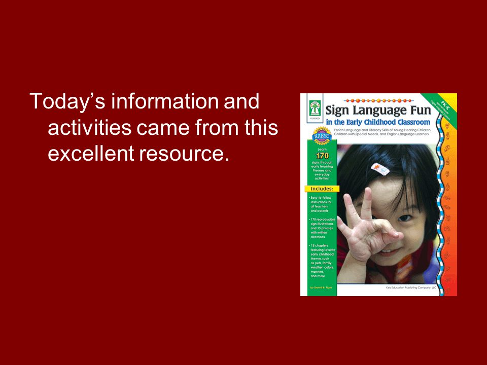 Today's information and activities came from this excellent resource.