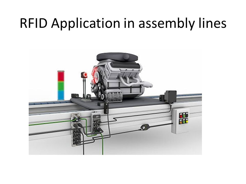 RFID Application in assembly lines