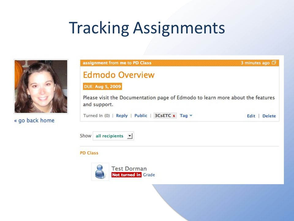 Tracking Assignments