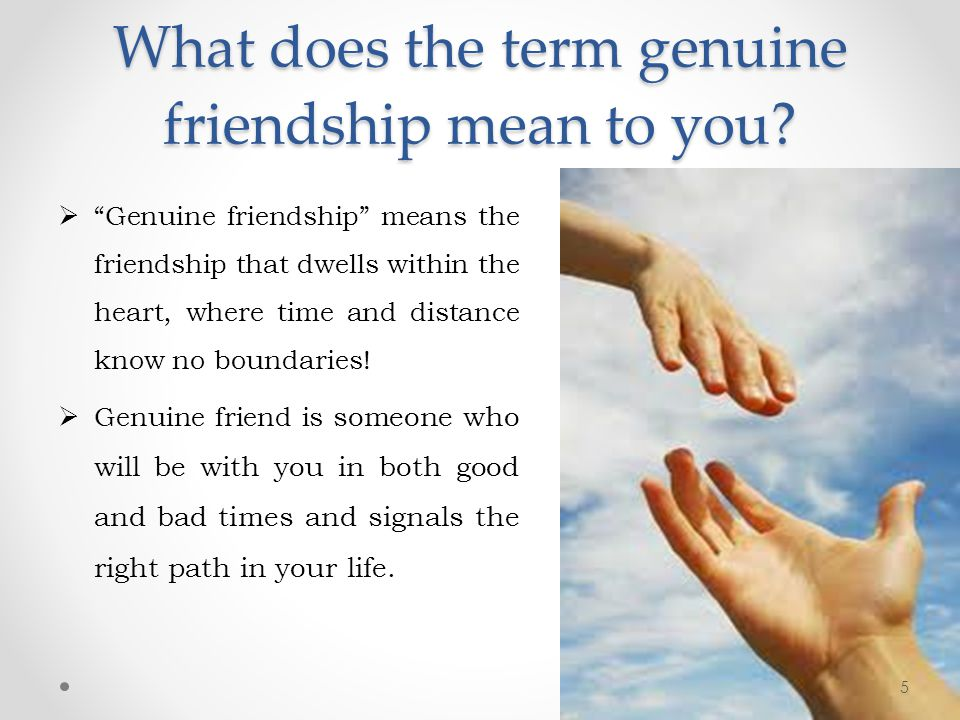 friendship what does it mean