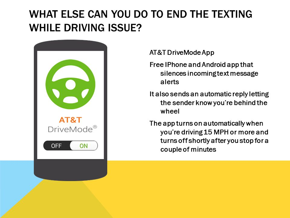 GET THE MSG: TEXTING + DRIVING DOESN'T ADD UP CAITLIN RICHMAN  - ppt