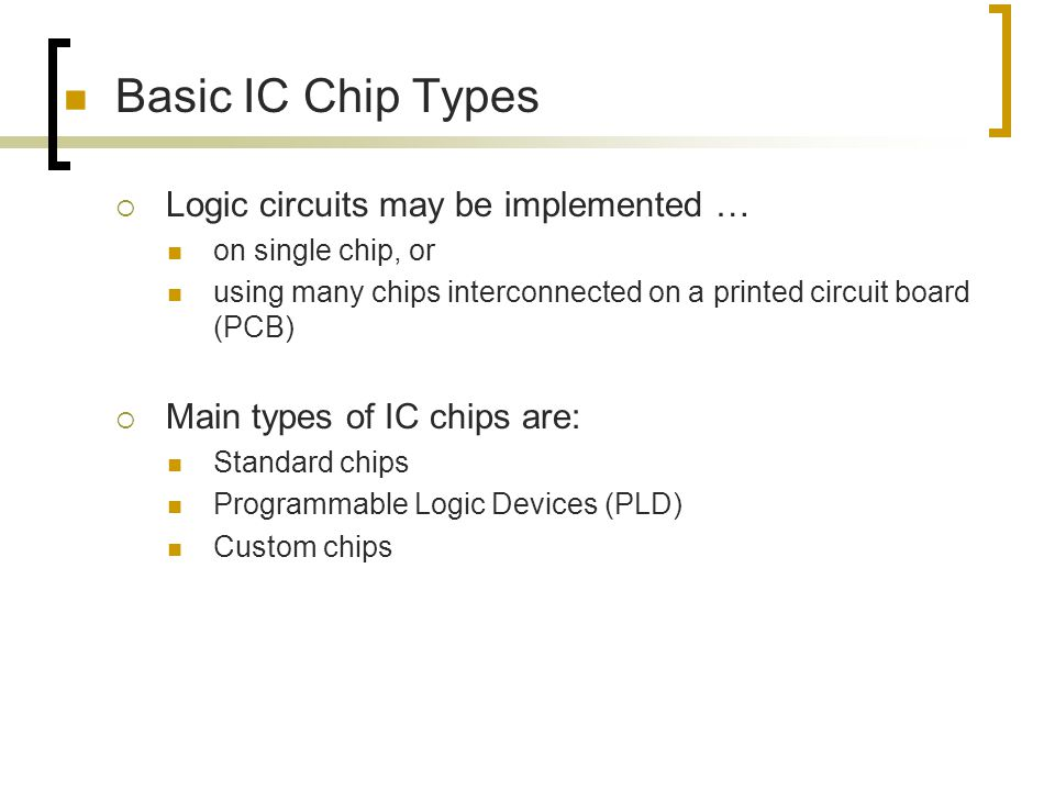 Digital Circuit Implementation  Wafers and Chips
