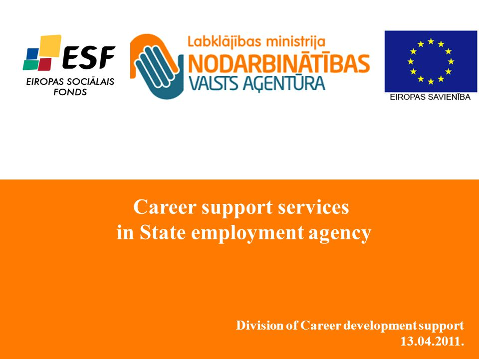 Division of Career development support