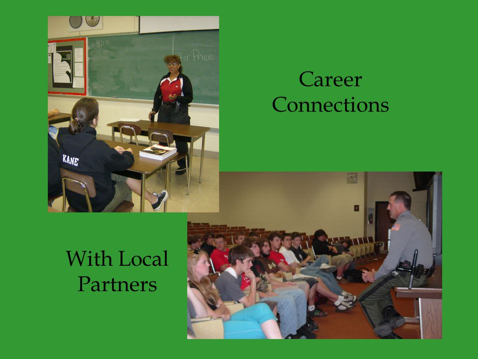 Career Connections With Local Partners