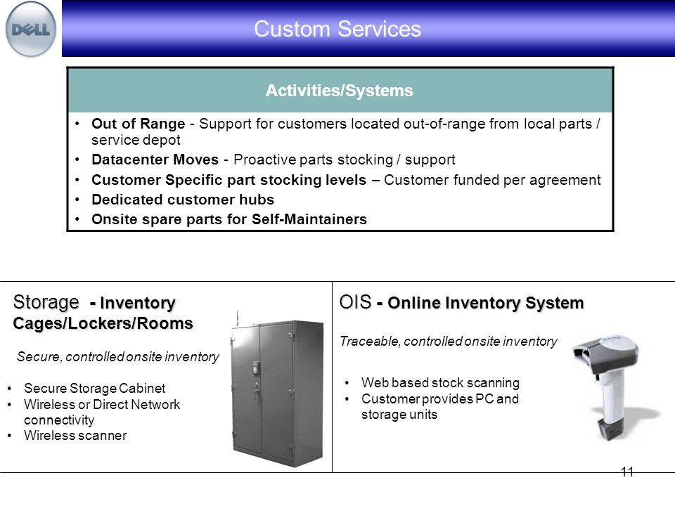 1 Onsite Service Parts Inventory Management Solution Direct