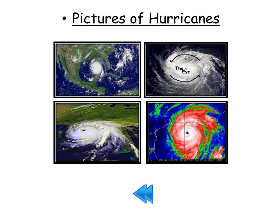Pictures of Hurricanes