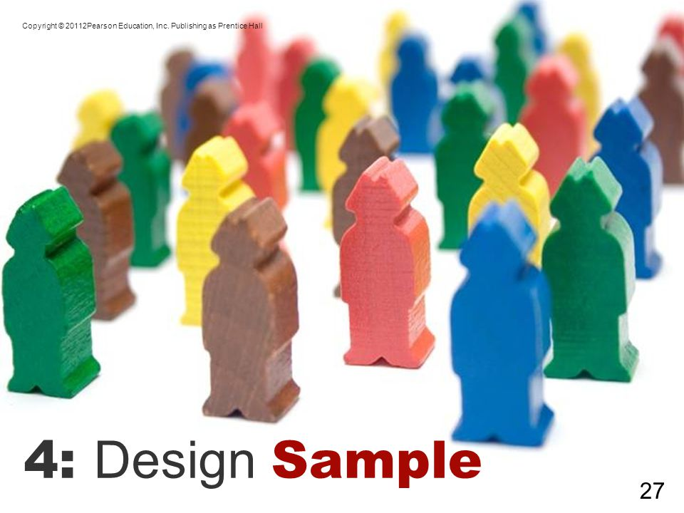 4: Design Sample Copyright © 20112Pearson Education, Inc. Publishing as Prentice Hall 27