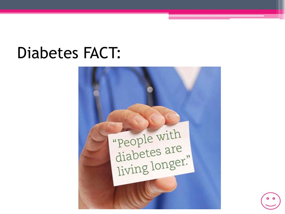 Diabetes Myths: Diabetes is not a serious disease Overweight/obese people will develop diabetes Eating too much sugar causes diabetes Diabetics should eat diabetic foods Diabetics can't eat sweets/chocolate Diabetics can only eat small amounts of: Breads Potatoes Pasta