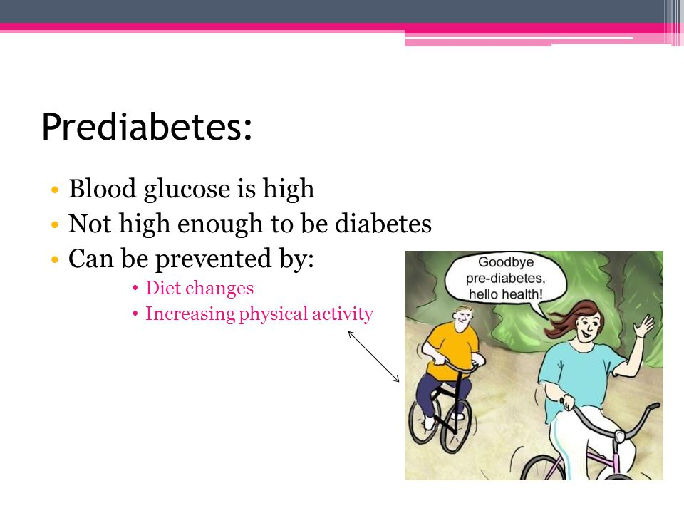 Types Of Diabetes: Prediabetes Type 1 Type 2 Gestational diabetes