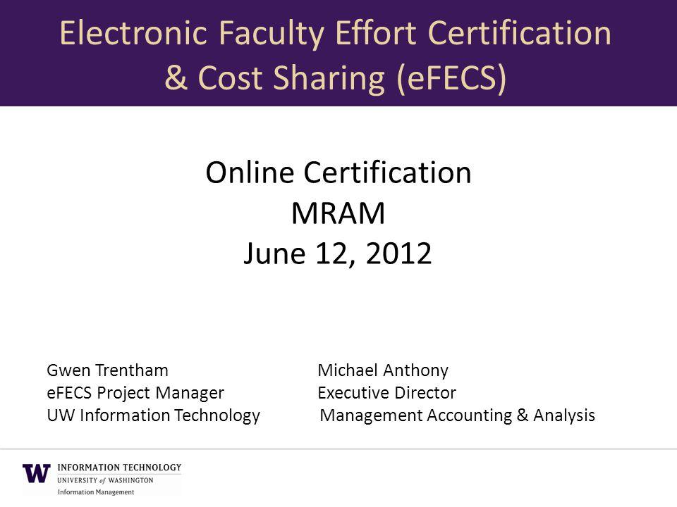 Online Certification Mram June 12 2012 Gwen Trenthammichael Anthony