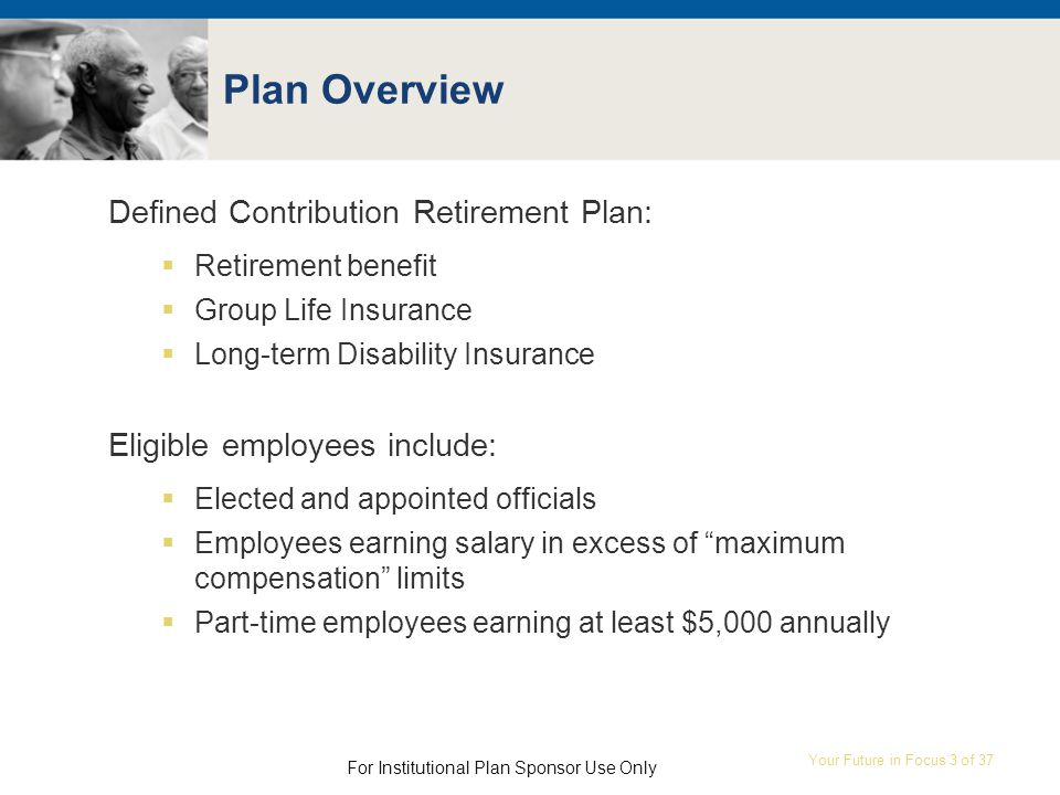Your Future In Focus 1 Of Ed122012 New Jersey Defined Contribution