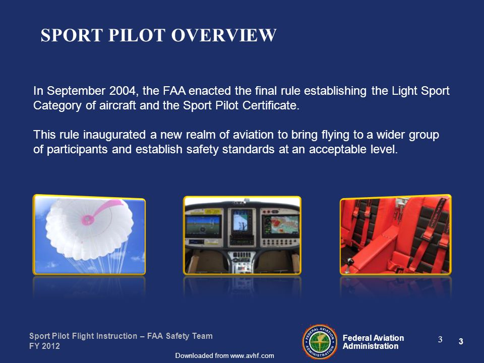 Presented To By Date Federal Aviation Administration Downloaded