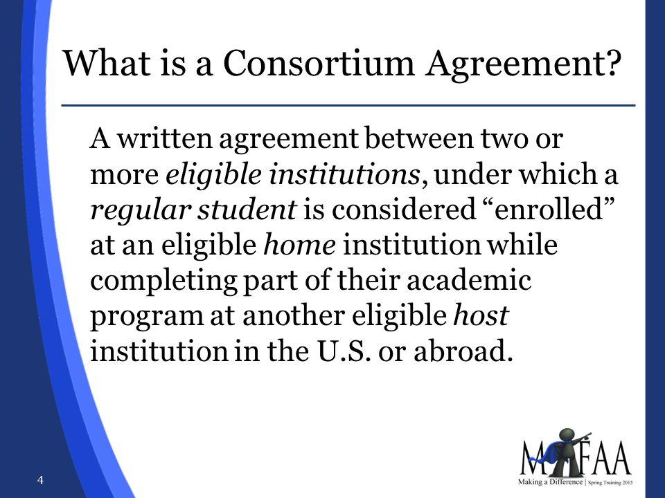 Consortium Contractual Agreements Jonna Marholz Brittany Tweed