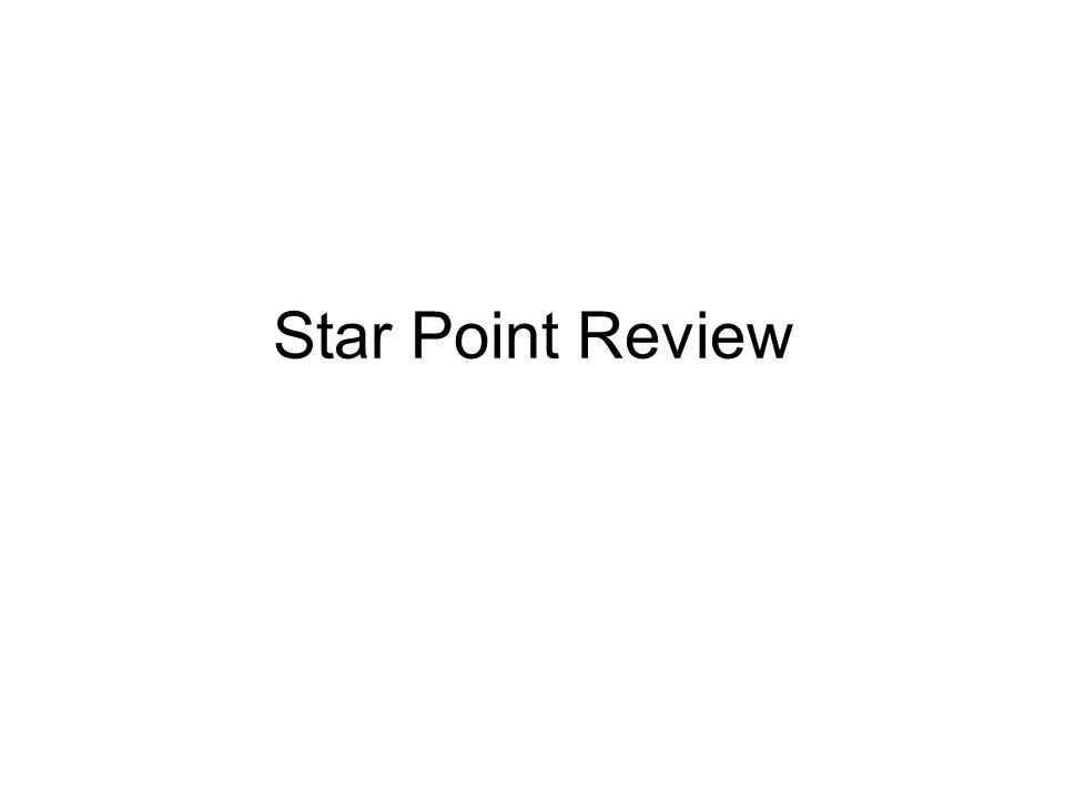 Star Point Review