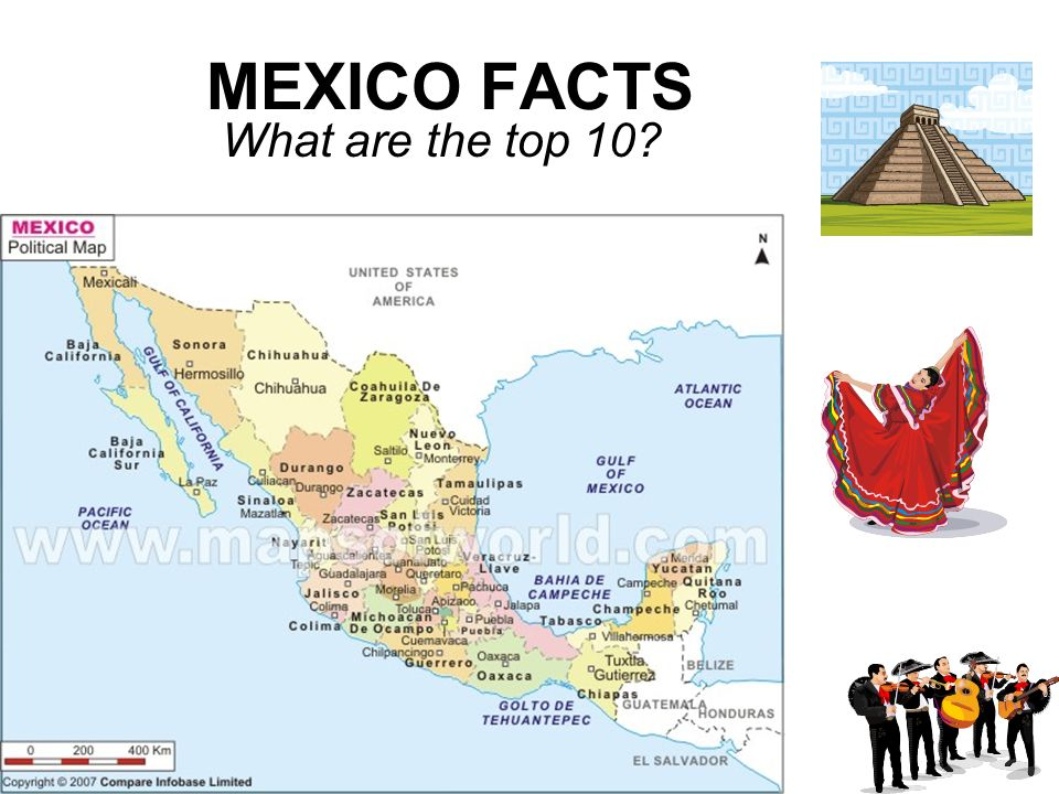 MEXICO FACTS What are the top 10
