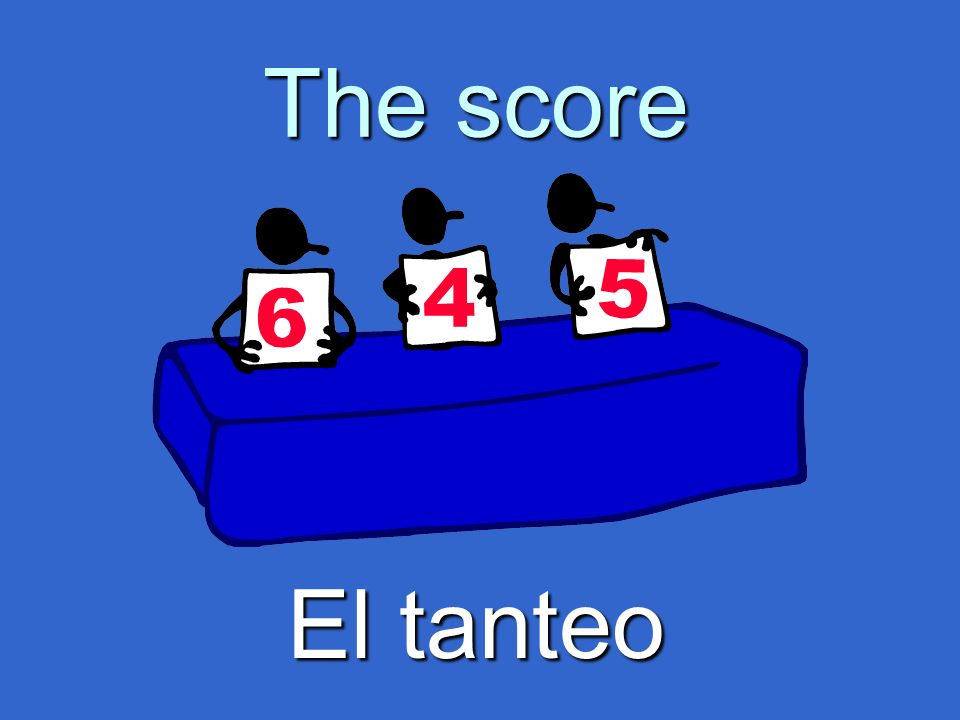 The score El tanteo