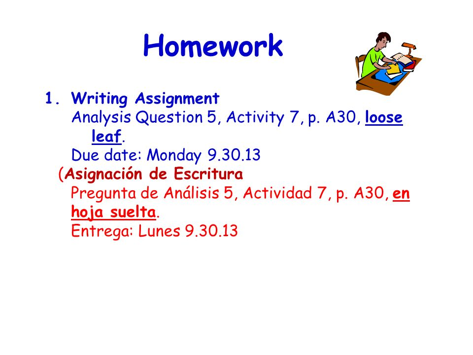 Homework 1.Writing Assignment Analysis Question 5, Activity 7, p.