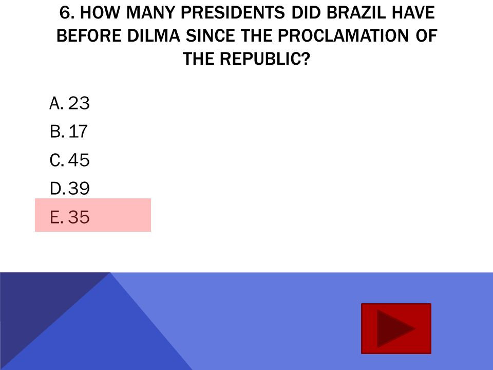 5. WHICH PRESIDENT WENT THROUGH AN IMPEACHMENT PROCESS, MARKED BY SCANDALS AND CORRUPTION.