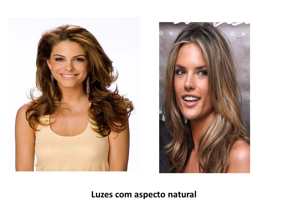 Luzes com aspecto natural