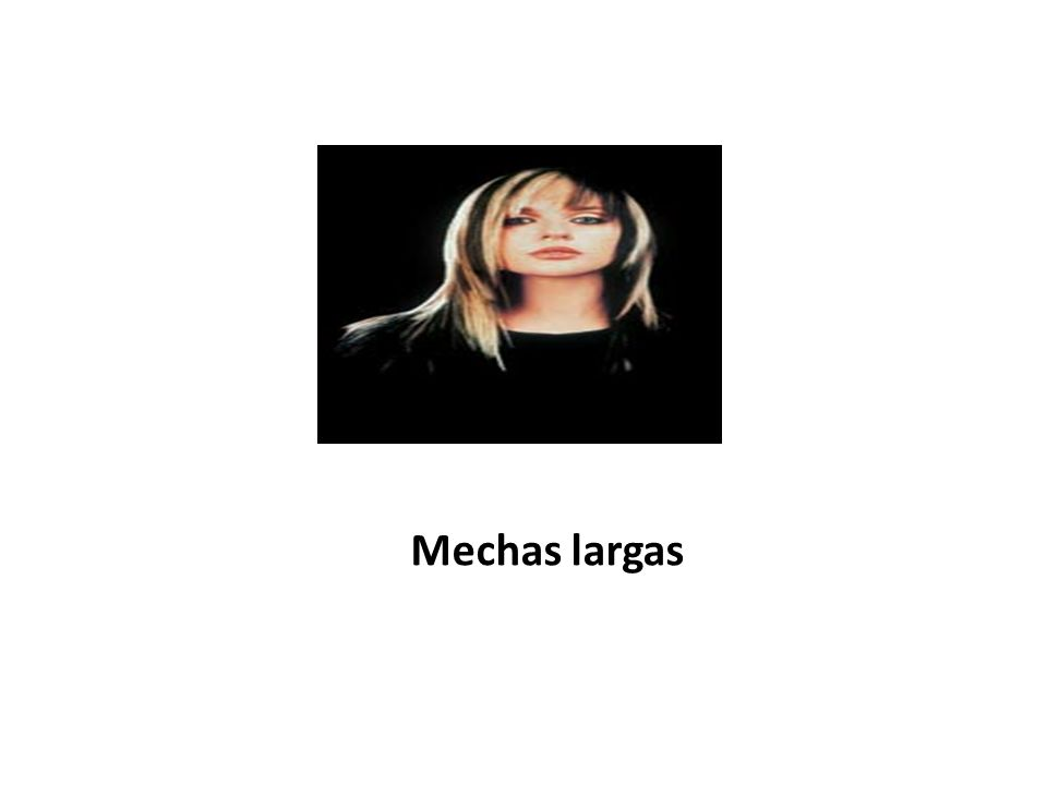 Mechas largas