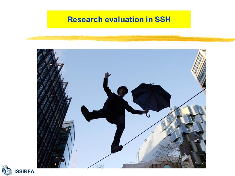 Research evaluation in SSH