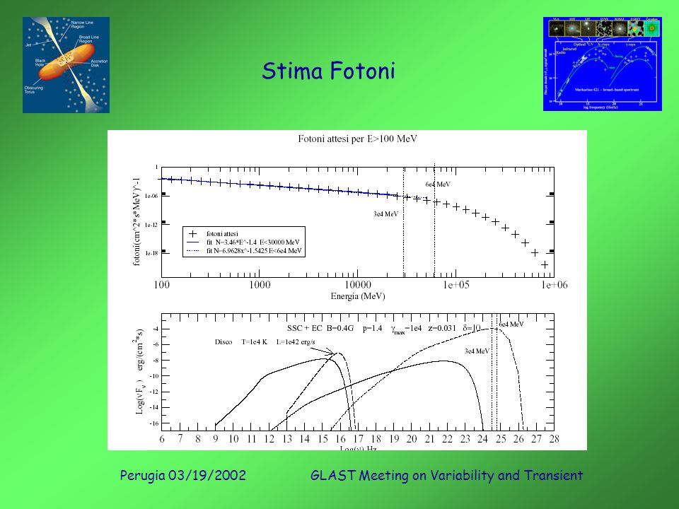 Perugia 03/19/2002GLAST Meeting on Variability and Transient Stima Fotoni